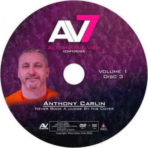 Never Book a Judge By His Cover : Anthony Carlin - AV7
