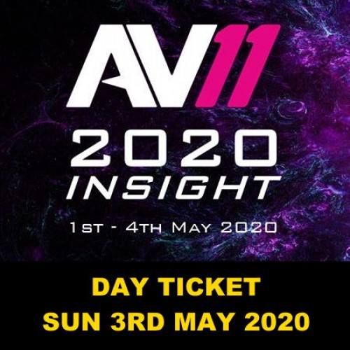 AV11 One Day Ticket (Incl Lunch) - Sun 3rd May 2020